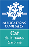 Logo CAF Haute Garonne