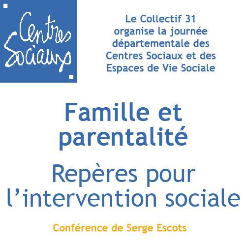 Famille et parentalité repères pour l'intervention sociale.