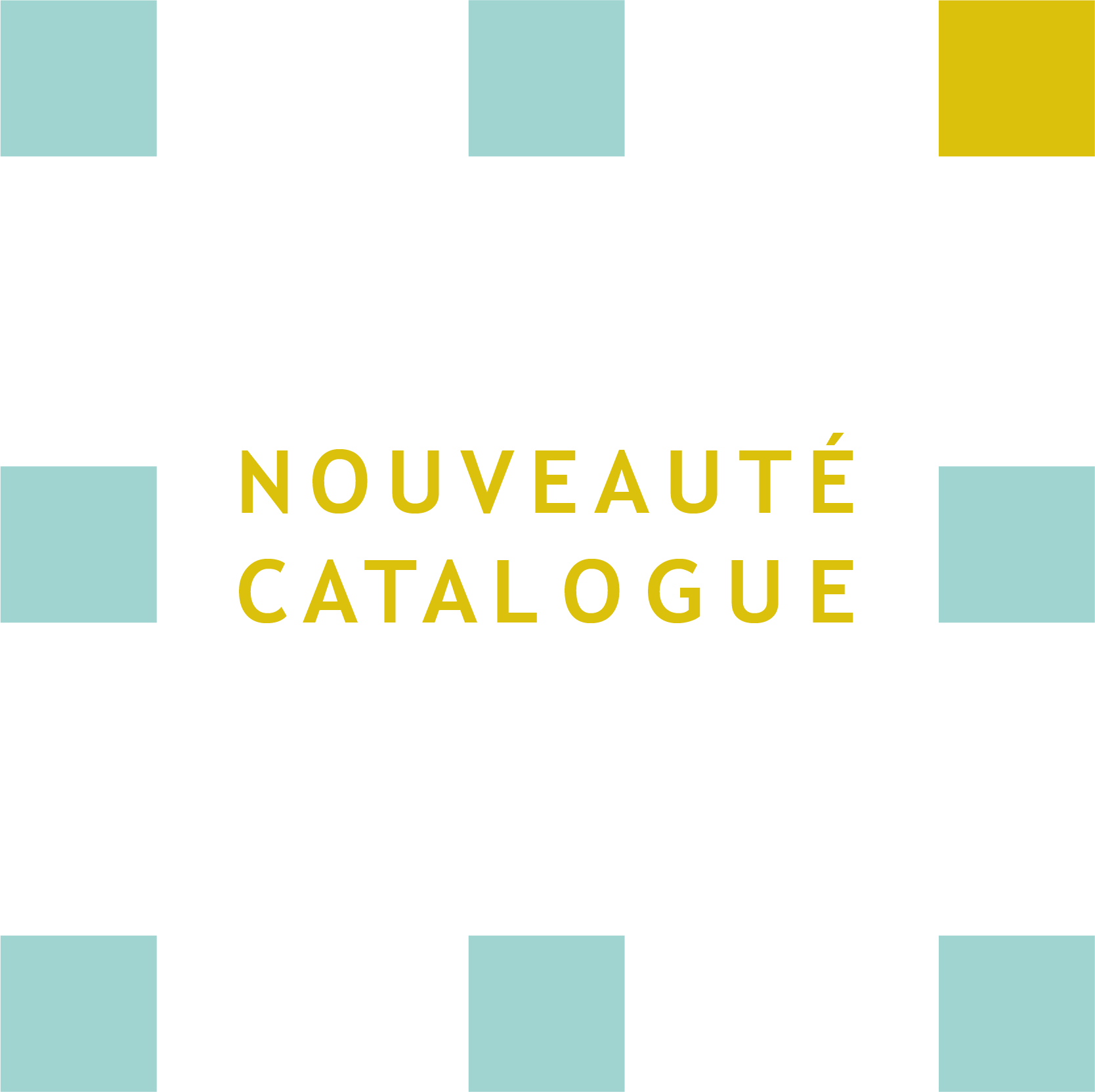 Nouveauté catalogue